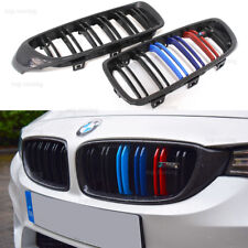 F32 F33 Carbon Fiber Front Kidney Grille Grill For 2014+ BMW F80 M3 F82 M4 F83