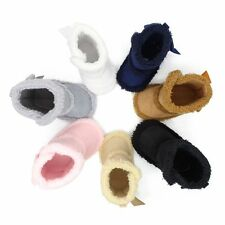 Toddler Girls Boy Newborn Winter Warm Boots Infant Baby Soft Sole Shoes 0-18M