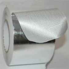 Aluminum foil tape 4''x55ft 10cm Reinforced fiberglass heat shield Fireproof US