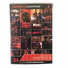 Les Mills Bodypump 84 DVD / CD / Note Body Pump Group Exercise Fitness Lesmills