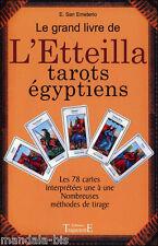 Grand Livre De L'Etteilla Tarots Egyptiens - E San Emeterio (Tarot, divination)