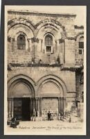 Postcard Palestine Middle East Jerusalem the Church of the Holy Sepulchre RP