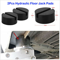 ASCENT Slotted Frame Rail Floor Rubber Jack Disk Pad Fit Pinch Weld Side JACKPAD