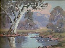 Norma Kett, Original Oil On Board. A listed Australian artist.