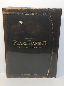 Pearl Harbor (DVD The Director's Cut Four-Disc Set) New, Sealed - Free Shipping