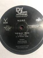 """Promo Vinyl 12"""" hip-hop Rap Capone N.O.R.E. Def Jam I-spy Movie"""