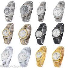 Women Elegant Wristwatch Ladies Dress Watch Quartz Elastic Steel Quartz Watch