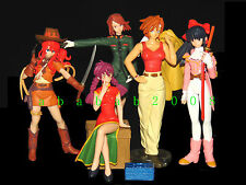 Bandai Sakura Wars figure gashapon set Part.5 (full set of 5 figures)