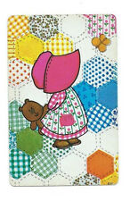 Vintage HOLLY HOBBIE Playing Cards ~ Patchwork Quilt Design, Teddy Bear