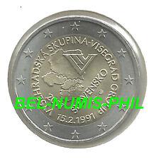 SLOWAKIJE 2011 - 2 Euro - 20 jaar Oprichting Visegradlanden/20 Ans Visegrad -UNC