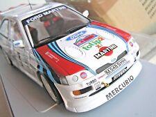 1/18  UT  models,  WRC, FORD ESCORT COSWORTH,  Martini racing, v. rare, mint+++