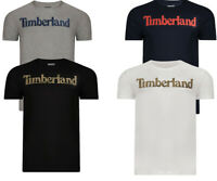 Timberland Logo Seasonal T Shirt  Short Sleeve Men's Crew Neck Tops