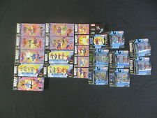 MINIMATES MARVEL UNIVERSE LOT OF 23 PACKS 56 FIG SDCC EXCLUSIVE SPIDER-MAN X-MEN