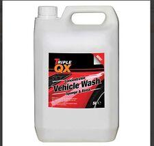 Triple QX Car Shampoo Super Concentrate Bodywork Car Cleaning 5L / 5 Litres