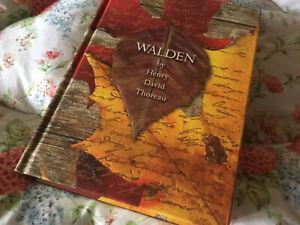 2008 hardback edition of 'Walden' by Henry David Thoreau
