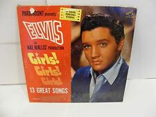 "Elvis Presley ""Girls! Girls! Girls!"" on RCA LPM-2621 VG+/VG"