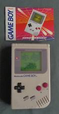 NINTENDO GAMEBOY GAME BOY CLASSIC DMG-01 console spelcomputer grey gray WORKS OK