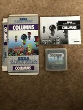 Sega Game Gear - Columns