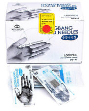 Dong Bang Disposable Hand Acupuncture Needle 0.18x8mm x 1000pcs, Orient Medicine