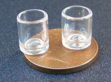 Escala 1:12 Vasos De Whisky 2 Casa de Muñecas en Miniatura Pub Bar Bebida Accesorio GLA34