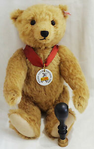 STEIFF BEAR 'FRANZ' CLUB EDITION 2004 LIMITED EDITION BAG AND CERTIFICATE