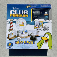 Disney Club Penguin Igloo Playset New in Box Complete 2008 Jakks Pacific