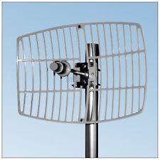De Alta Ganancia 27dbi largo Rango 5.8 g WLAN Wireless Red Parabólico De Aluminio Antena N