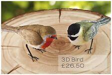 Moule Silicone 3D Oiseau Nourriture Usage FPC Décoration en pâte à sucre