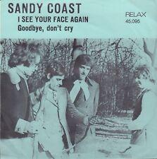 "SANDY COAST – I See Your Face Again (1968 NEDERBEAT VINYL SINGLE 7"")"