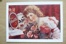 Advertising Post Card- DRINK COCA COLA 5c, brand card @1990 Coca Cola