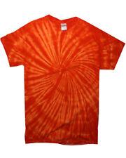 Colortone Tie-dye Women S Short Sleeve Casual Sprial T Shirt 2xl Spiral Navy