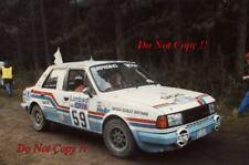 Ladislav Krecek & Borivoj Motl Skoda 130 L RAC Rally 1985 fotografía 1