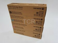 4 Genuine Fuji Xerox CT201676-CT201677-CT201678-CT201679 Set Toner Cartridge