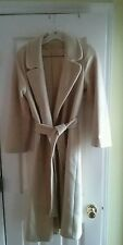 VF 100% luxurious women's cashmere beige coat small