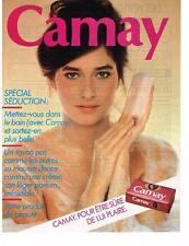 PUBLICITE ADVERTISING   1981   CAMAY   savon