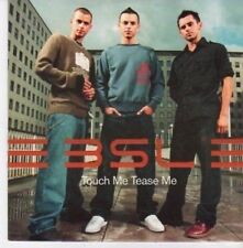 (BE910) BSL, Touch Me Tease Me - 2002 DJ CD