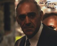ABE VIGODA THE GODFATHER SIGNED AUTOGRAPHED COLOR PHOTO WOW!!