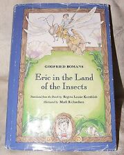 1994 First US Edition Eric in the Land of the Insects by Godfried Bomans w/  DJ