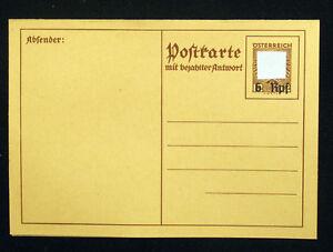 Österreich, Adolf Hitler Ostmark , 3.Reich, WW2 - Bildpostkarte P 295 Swastika.+