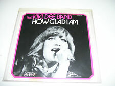 "Kiki Dee Band - How Glad I Am 7"" VINYL 1975 HOLLAND"