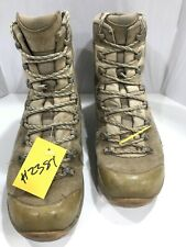 USED Army Issue LOWA Elite Desert Combat Hiking Boots UK 9 #2381