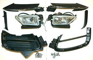 2009-2011 Mazda RX-8 RX8 Front Left Right Driving Fog Light Bumper Grill Trim OE
