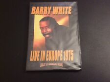 Barry White - Live in Europe 1975 (Music DVD) NEW & FREE SHIPPING