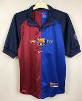 FC BARCELONA 19992000 HOME FOOTBALL JERSEY CAMISETA SOCCER  SHIRT VINTAGE