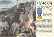 C4374) WW2 GRECIA M.O. BARBIELLINI AMIDEI DA ROMA 48° FANTERIA FERRARA.