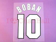 Boban #10 1999-2000 AC Milan Homekit Nameset Printing