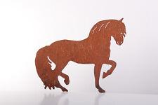 Pferd Edelrost Garten Deko Metall