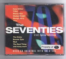 (HA164) Various Artists, The Seventies - 1995 Triple CD