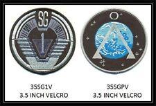 Stargate 3.5 Inch Sg-1 Vel-Kro Set - 35Sg1V & 35Sgpv
