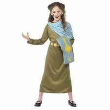 Girls Horrible Histories Boudica British Celtic Roman Queen Folk Hero Costume